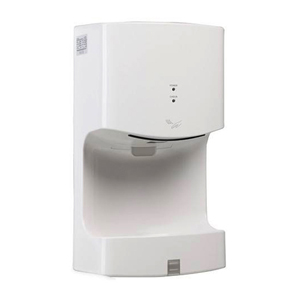 Single-sided jet hand dryer